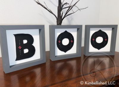 BOO - 3 frame set