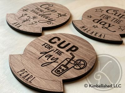 Cup for the Day Coasters