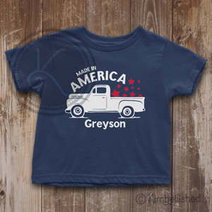 Made in America - Navy - Baby & Toddler