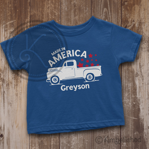 Made in America - Royal Blue - Baby & Toddler