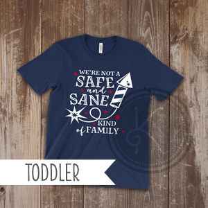 Safe and Sane - Navy Blue - Toddler