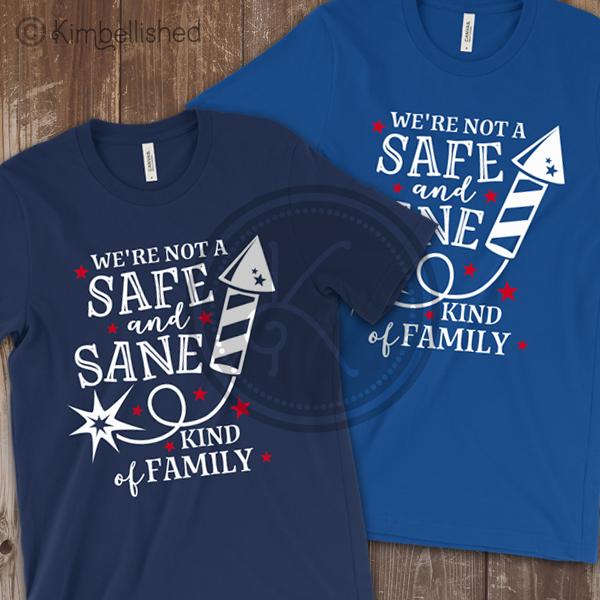 Safe and Sane shirt