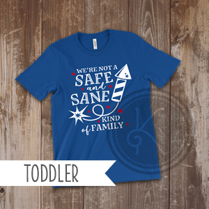 Safe and Sane - Royal Blue - Toddler