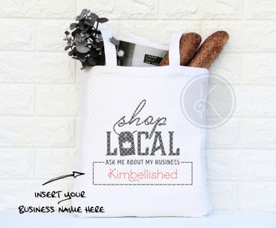 Shop Local Tote - Customized