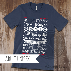 Star Spangled Banner - Navy - Adult Unisex
