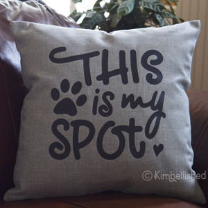 This is My Spot - Light Gray