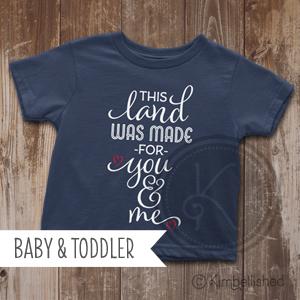 This Land - Navy - Baby & Toddler