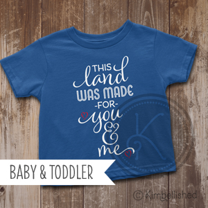 This Land - Royal Blue - Baby & Toddler