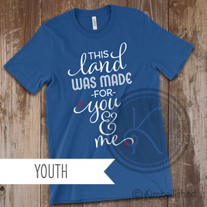 This Land - Royal Blue - Youth